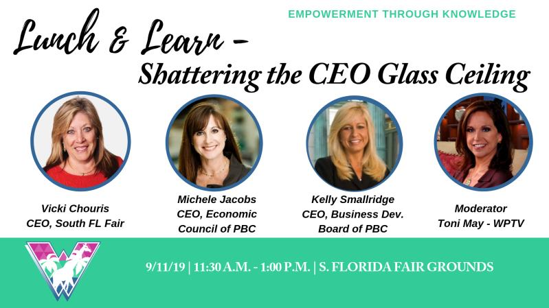 Lunch and Learn - Shattering the CEO Glass Ceiling
