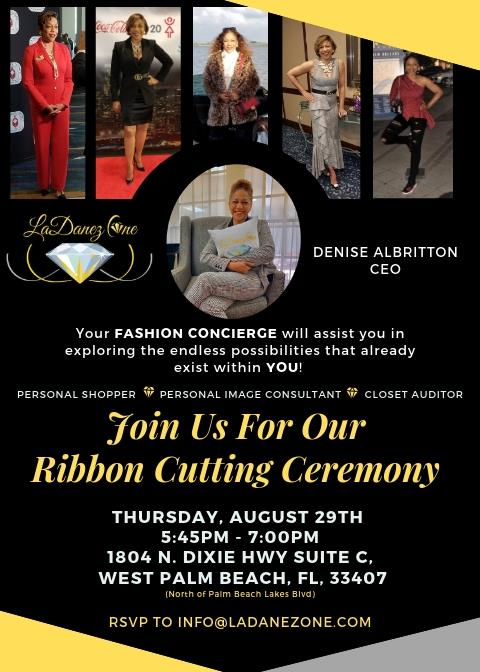 Ribbon Cutting - La Denez One