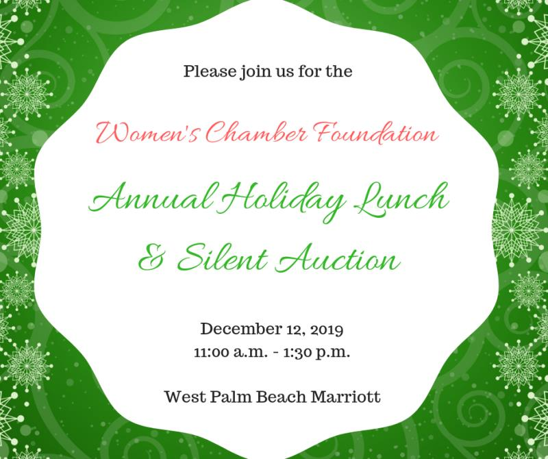 Annual Holiday Luncheon & Silent Auction