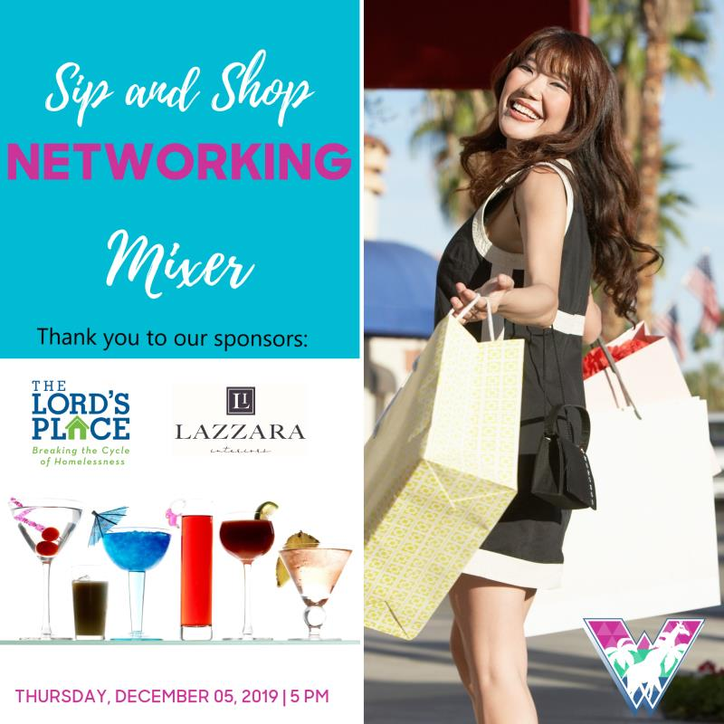 Sip and Shop Mixer